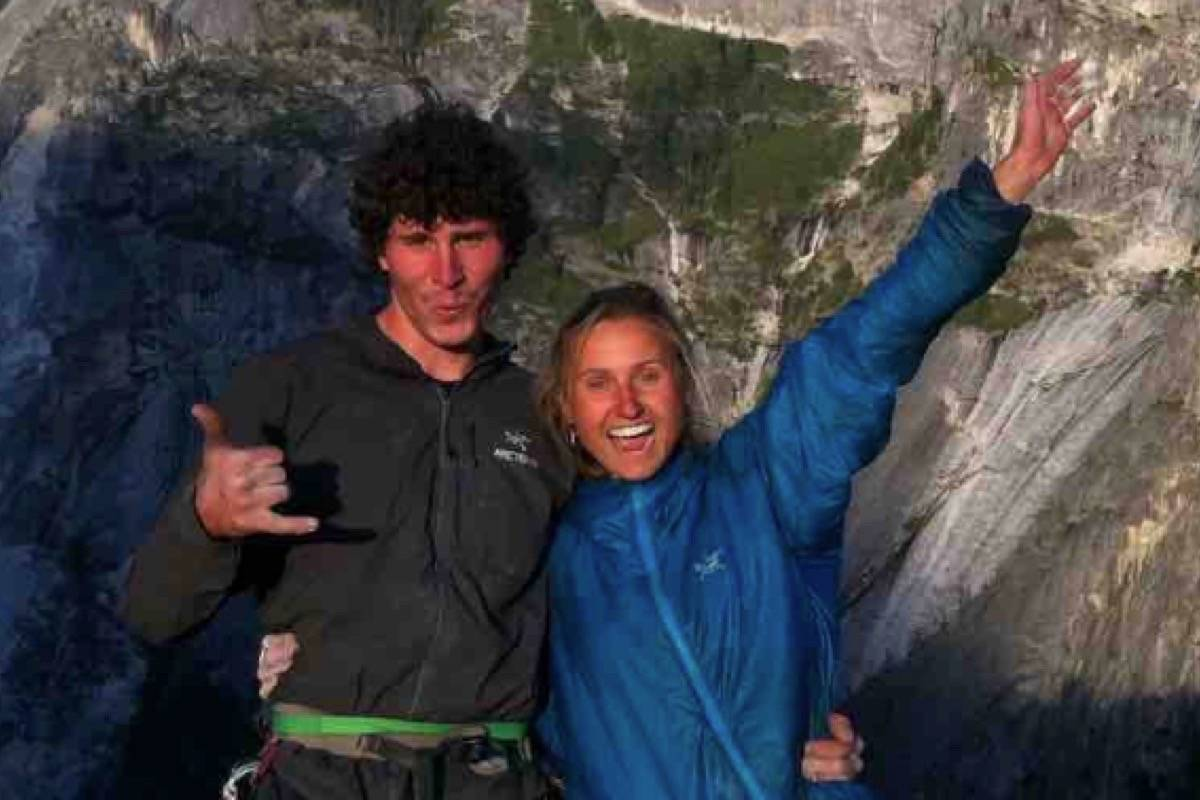 Leclerc and his partner Brette Harrington are both experienced climbers. Leclerc's family has started a GoFundMe campaign to help with search efforts in Juneau since he and his Alaskan partner Ryan Johnson failed to return from a climb Wednesday. (GoFundMe)