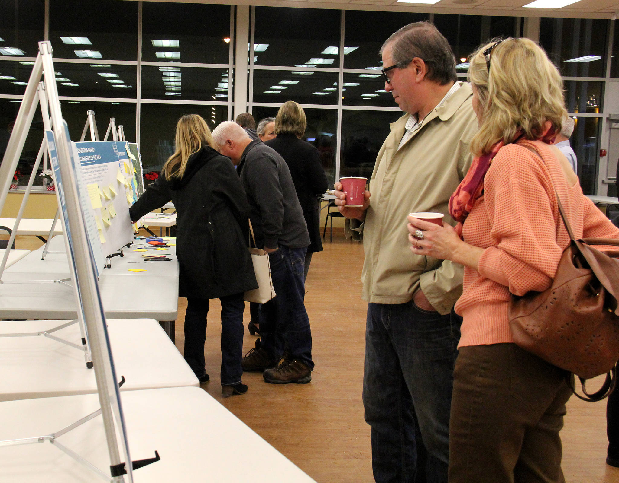 Many residents came out to a recent open house, hosted at the Senior's Centre, to find out what the IDP is what what it could effect. Those who were present at the open house were also able to voice their areas of concern.